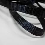 Nylon Braided Cable Sleeve Black Diameter 15mm (แบ่งขายเป็นเมตร)