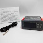 เครื่องควบคุมอุณหภูมิ 10A 12V Digital Temperature Controller Thermocouple -40 to 120 C