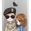 "[PRE-ORDER] Descendants Of The Sun - Jelly Phone Case ""Yoo Shi Jin & Kang Mo Yeon"" (เคสใส) thumbnail 1"