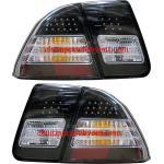ไฟท้าย HONDA CIVIC 01-05 ดำ LED