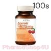 Vistra Acerola Cherry 1000mg 100เม็ด วิสทร้า อะเซโรลา เชอร์รี่ 1000มก วิตามินซีธรรมชาติ ปรับผิวขาวใส มี อย. ถูกต้อง
