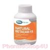Mega We Care Natural Betacar-15 60เม็ด เบต้าคาร์โรทีน และคาร์โรทีนอยด์ 15mg ให้วิตามินเอ บำรุงผิวพรรณ บำรุงสายตา ชะลอความเสื่อม