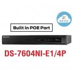 HIKVISION NVR DS-7604NI-E1/4P