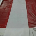 ถุงพลาสติกยาว 8x60 นิ้ว (20ซม * 150ซม) สีขาวนม แพคละ 40 ใบ