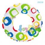 Intex Lively Print Swim Ring 20in (51cm) - Geometry no.59230GW