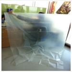 ถุงพลาสติกขนาดใหญ่ 60x90 (กว้าง 1.5เมตร ยาว 2.25เมตร) บรรจุน้ำ ได้ 750 ลิตร
