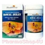 Healthway Premium Royal Jelly 1600mg 6% 10-HDA 365 เม็ด การันตี รอยัลเจลลี่ 24mg 10-HDA ( รุ่นโดมใหม่) ช่วยทำให้ผิวพรรณเปล่งปลั่งและอ่อนวัย ปรับความสมดุลของฮอร์โมน