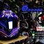หมวกกันน็อคReal รุ่นHornet-GP-RACE สีน้ำเงิน-ม่วง thumbnail 1