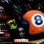 หมวกกันน็อคคลาสสิก 5เป๊ก สีส้มด้าน (เลข8) thumbnail 1