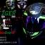 หมวกกันน็อคReal Hornet-Tiger สีดำด้าน-เขียว thumbnail 1