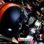 หมวกกันน็อคReal Comfort Edition สีดำ-ส้ม(ด้าน) สำเนา thumbnail 5