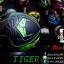หมวกกันน็อคReal Hornet-Tiger สีดำด้าน-เขียว thumbnail 5
