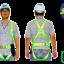เข็มขัดนิรภัย Safety Harness SS-TOP Full Body Harness 1D Auto Buckle thumbnail 1