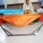 เปลญวน BANMAI ชุดเล็ก สีส้ม เหมาะสำหรับเด็กแรกเกิด เด็กอ่อน 0-3 ปี พกพาสะดวก พับเก็บได้ ห่อตัวดีเยี่ยม โปร่งสบาย ไม่ร้อน ประหยัดพื้นที่การใช้งาน thumbnail 3