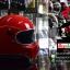 หมวกกันน็อคคลาสสิก CT3 สีแดง thumbnail 5
