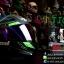 หมวกกันน็อคReal Hornet-Tiger สีดำด้าน-เขียว thumbnail 2