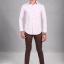 เสื้อเชิ้ตผู้ชายสีชมพู ผ้า Oxford thumbnail 2