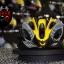 หมวกกันน็อค จักรยาน สีเหลือง-ดำ thumbnail 1