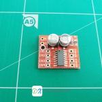 Mini 2 DC motor drive module PWM dual H bridge