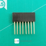 1x8 pin Stackable Female Header