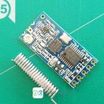 HC-12 433MHz wireless serial port module