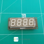 "4-Digit 0.52"" RED 7 Segment Display"