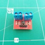 Voltage And Current Sensor Module 0-25V 0-3A