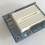 Uno Proto Shield prototype expansion board for Arduino Uno