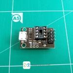 Development Programmer Board for ATtiny13A/ATtiny25/ATtiny45/ATtiny85
