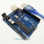 Arduino Uno R3 พร้อมสาย USB (Compatible)