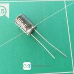 x5 100uF 50V Electrolytic Capacitor