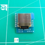 "OLED Shield for WeMos D1 mini 0.66"" inch 64X48 IIC I2C"