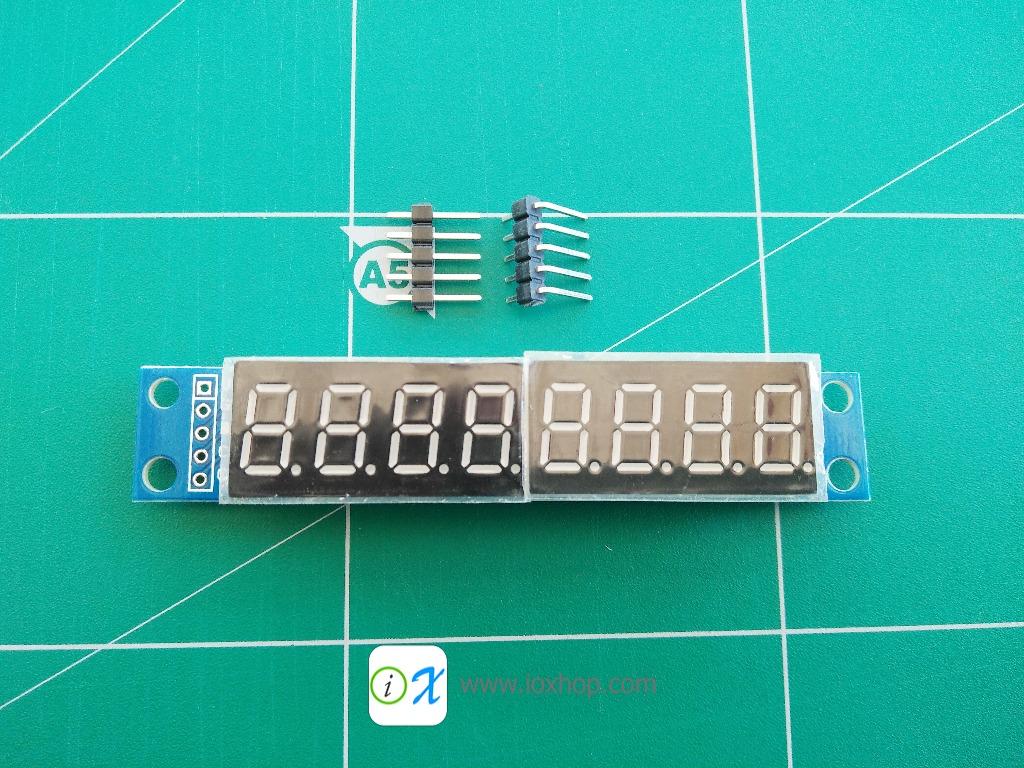 MAX7219 8-Digit 7 Segment Digital LED Display Tube
