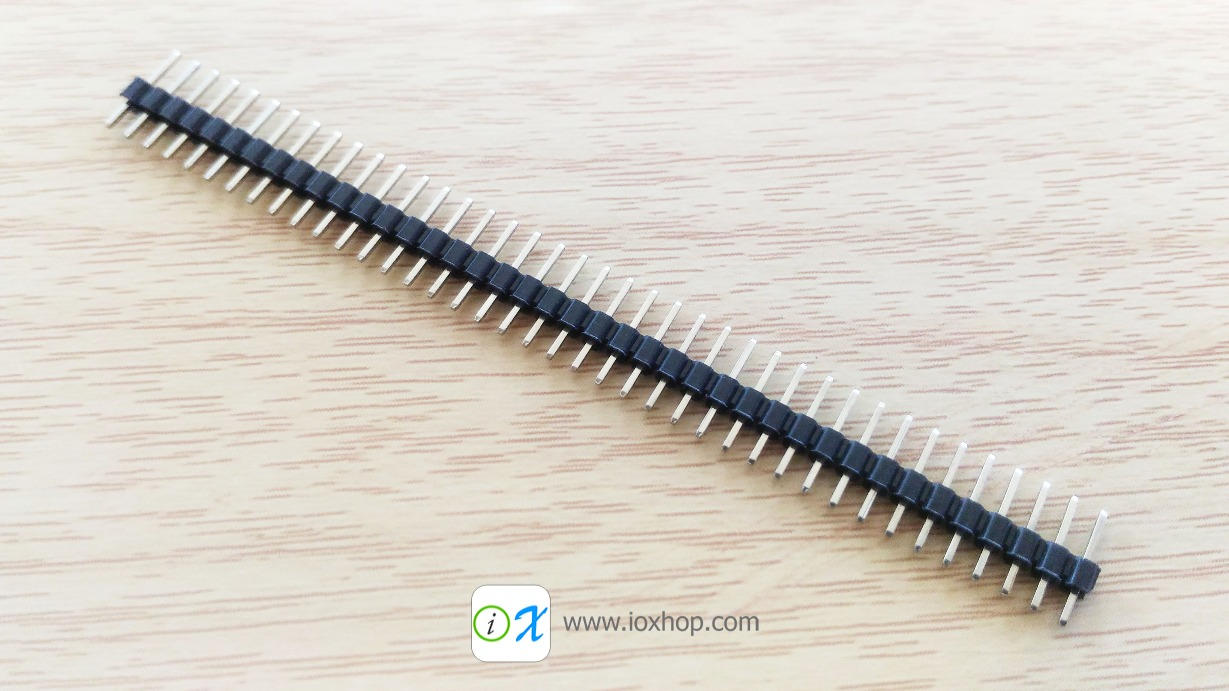 40 Pin 2mm Male Pin Header connector