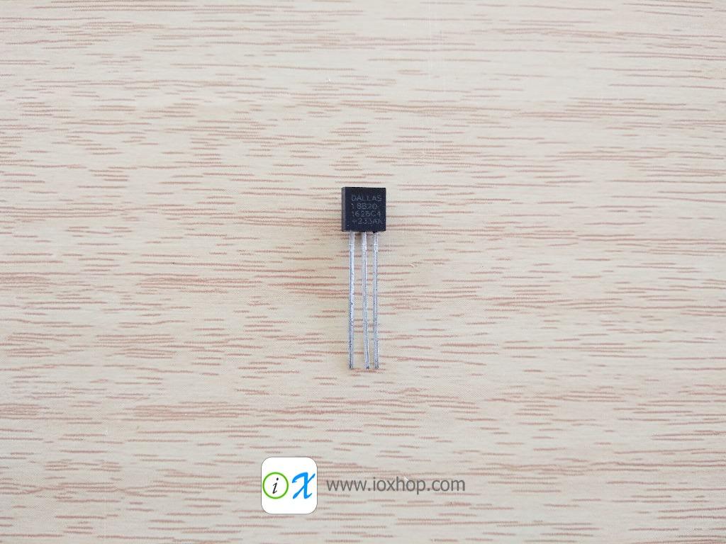 DS18B20 TO92 1 Wire Temperature sensor