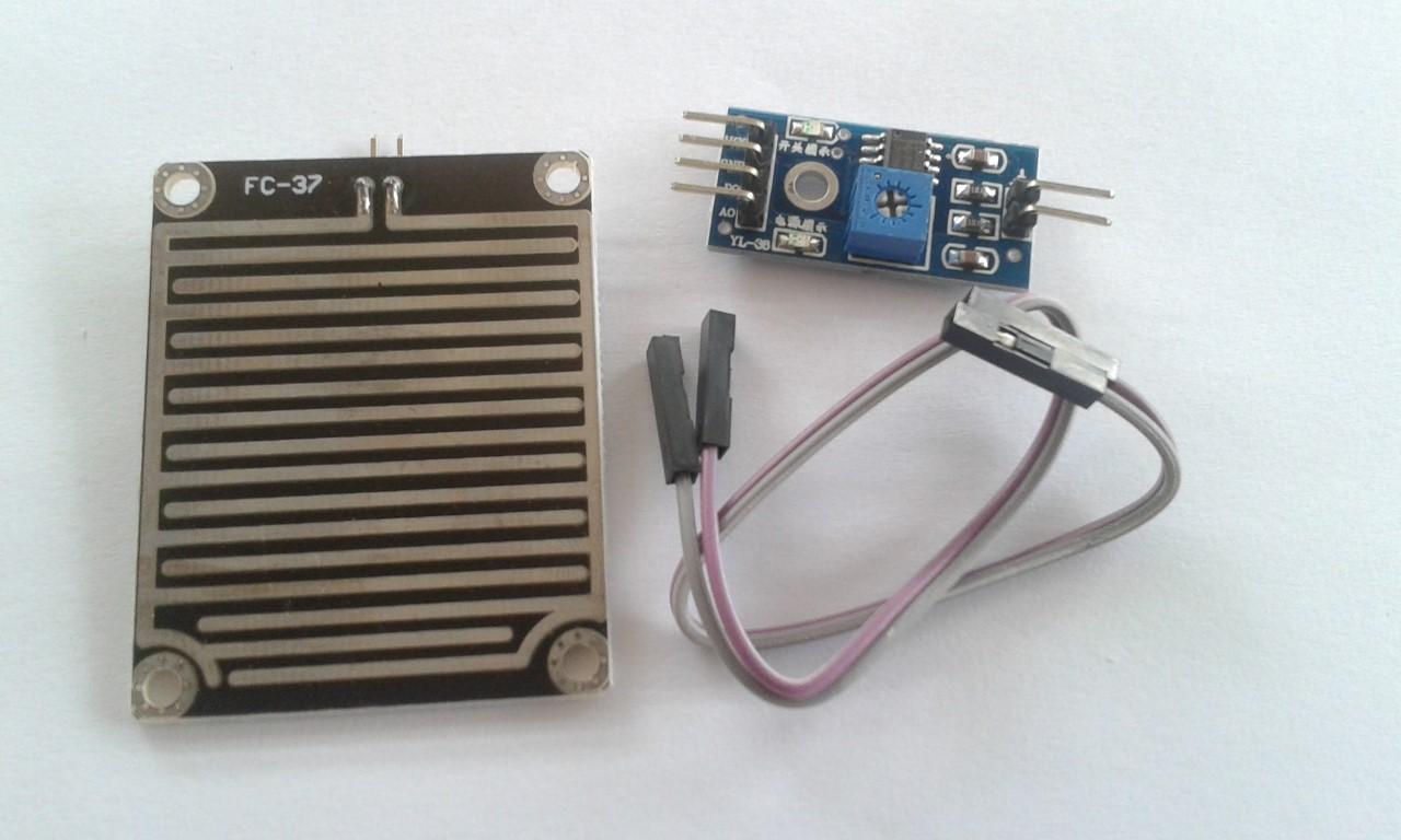 เซ็นเซอร์น้ำฝน Raindrops Detection Sensor