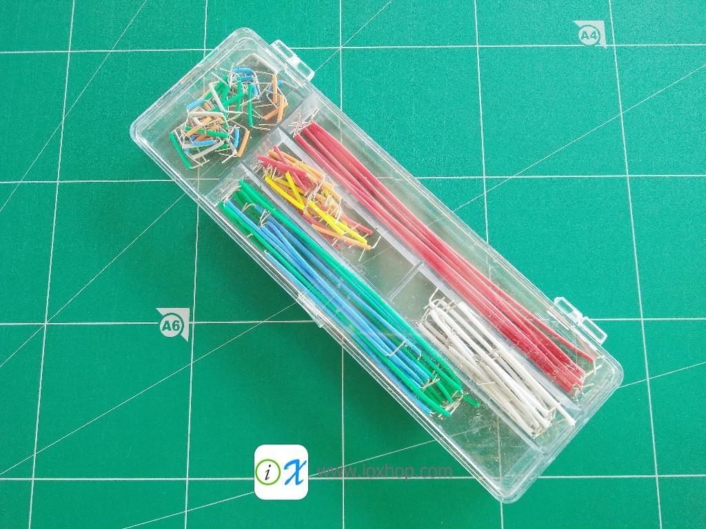 140pcs Breadboard Jumper Cable Wire